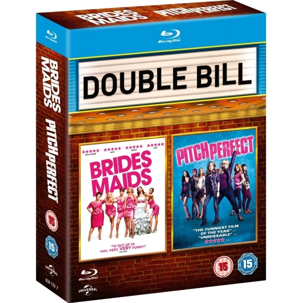 Bridesmaids & Pitch Perfect Double Pack Blu Ray