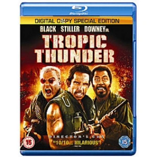 Tropic Thunder Blu-ray