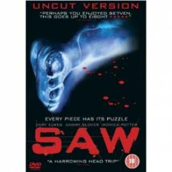 Saw (Uncut, Theatrical Version) DVD