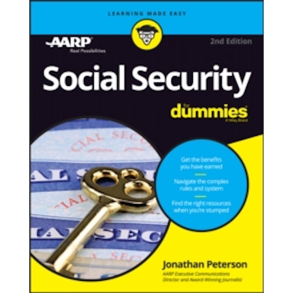 Social Security For Dummies by Jonathan Peterson (Paperback, 2016)