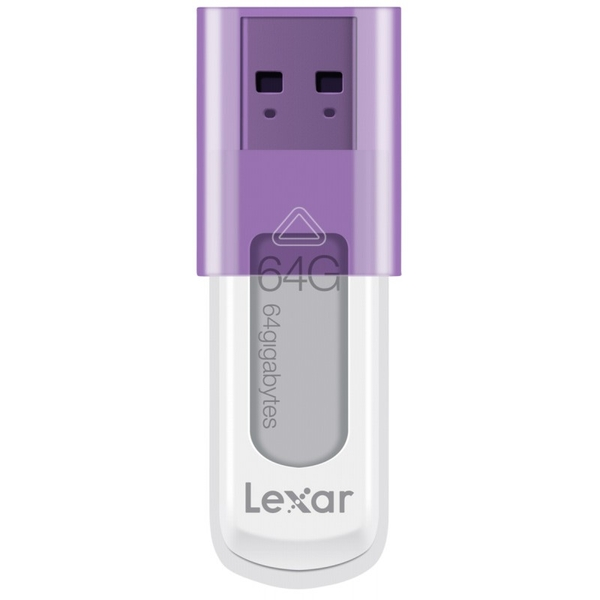 Lexar 64GB JumpDrive S50 USB Flash Drive Memory Stick