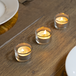 12 X Circle Tealight Candle Holder | M&W - Image 4