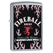Zippo Fireball Chrome Regular Windproof Lighter