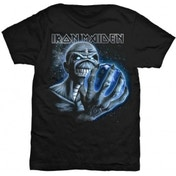 Iron Maiden A Different World Mens TS: Large
