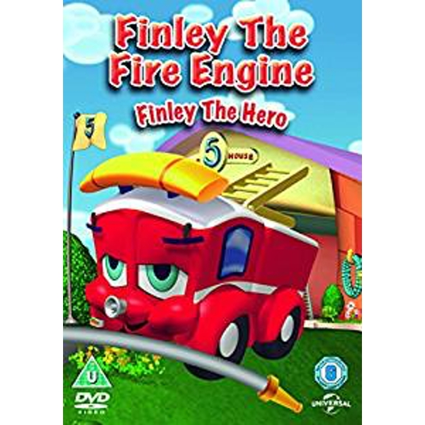 Finley The Fire Engine - Finley The Hero DVD