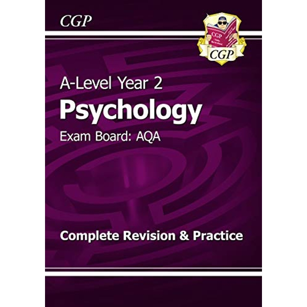 New A-Level Psychology: AQA Year 2 Complete Revision & Practice by CGP Books (Paperback, 2015)