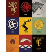 Game of Thrones - Sigils Canvas