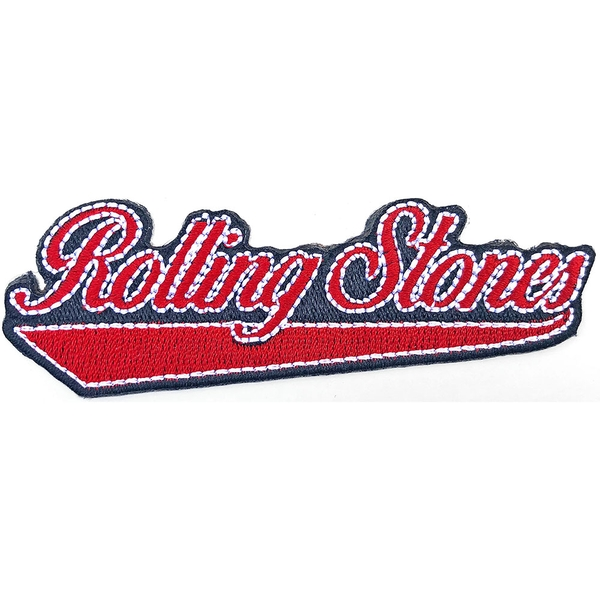 The Rolling Stones - Baseball Script Standard Patch