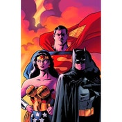 Batman Superman Wonder Woman Trinity Deluxe Edition Hardcover