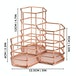 Rose Gold Hexagonal Desk Tidy | M&W - Image 7