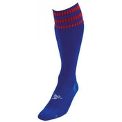 PT 3 Stripe Pro Football Socks LBoys Royal/Red