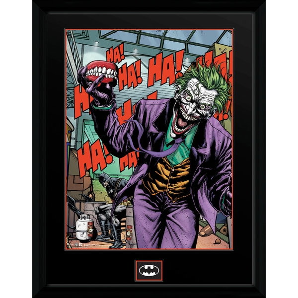 DC Comics Joker Teeth Collector Print