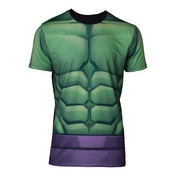 Incredible Hulk - Sublimation Men's Large T-Shirt - Green