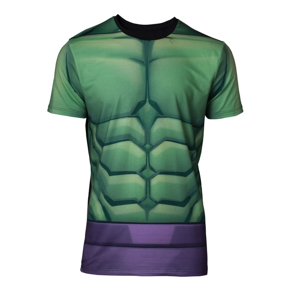 Incredible Hulk - Sublimation Men\'s Large T-Shirt - Green
