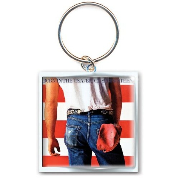 Bruce Springsteen Born in the USA Keychain