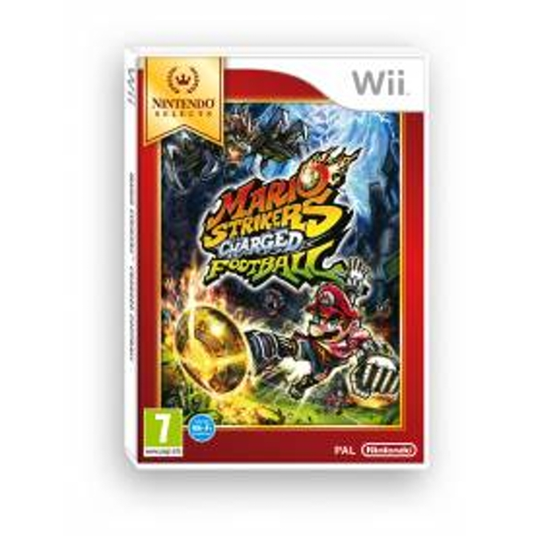 Mario Strikers Charged Football Game (Selects) Wii