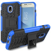 Samsung Galaxy J3 (2017) Tough Kickstand Combo - Black and Blue