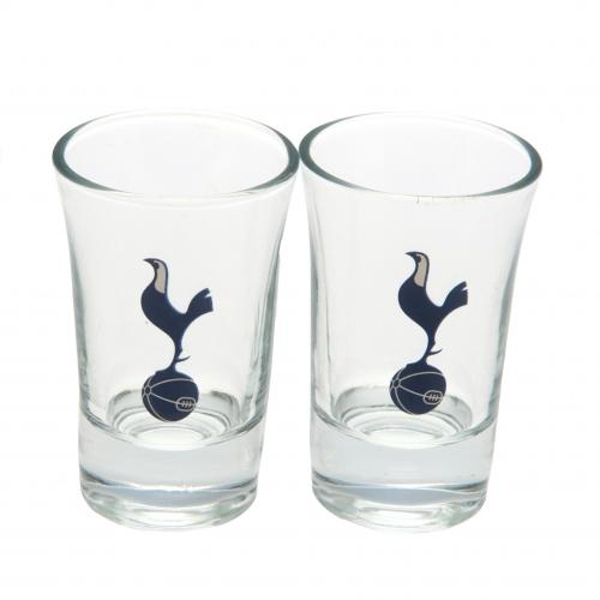 Tottenham Hotspur FC 2 Pack Shot Glass Set