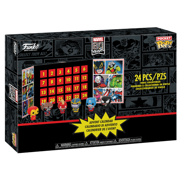 Marvel Funko Pop (Pocket Pop) Advent Calendar 2019