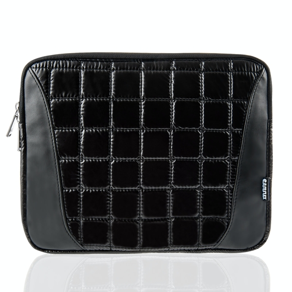 Caseflex Quilted iPad Pouch - Black - Image 1