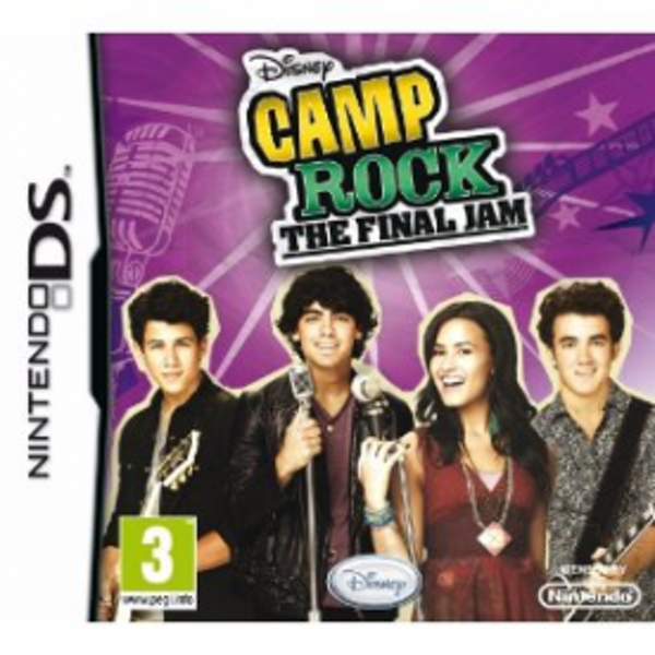 Camp Rock The Final Jam Game DS