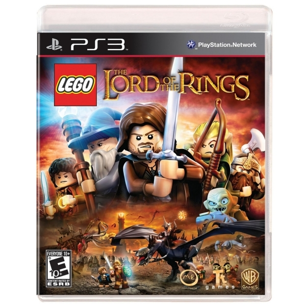 Lego Lord Of The Rings Game PS3