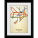 Transport For London Tate 50 x 70 Framed Collector Print - Image 2