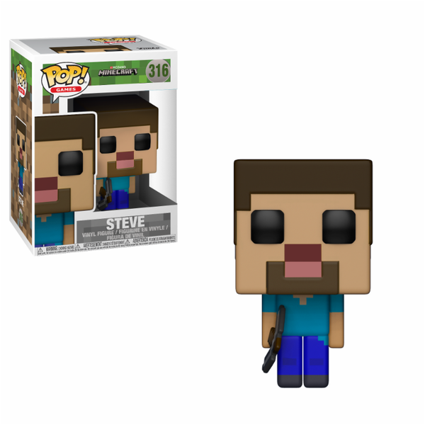 Steve (Minecraft) Funko Pop! Vinyl Figure