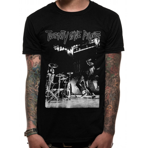 Twenty One Pilots - Bstage Men's Large T-Shirt - Black