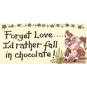 Forget Love...I'D Rather Fall...Smiley Sign Pack Of 12