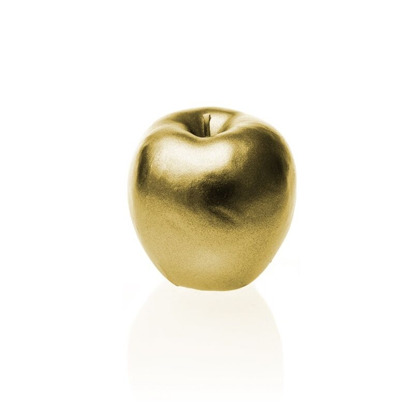 Classic Gold Apple Candle