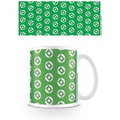 DC Originals Green Lantern Logo Pattern Mug