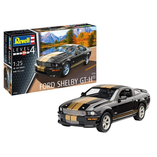 Ford Shelby GT-H 2006 1:25 Scale Level 4 Revell Model Kit