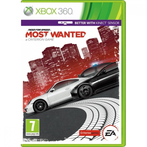 (Ex-Display) Need for Speed Most Wanted Game [2012] Xbox 360
