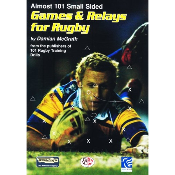 Almost 101 Small Sided Games and Relays for Rugby by Damian McGrath (Paperback, 2007)