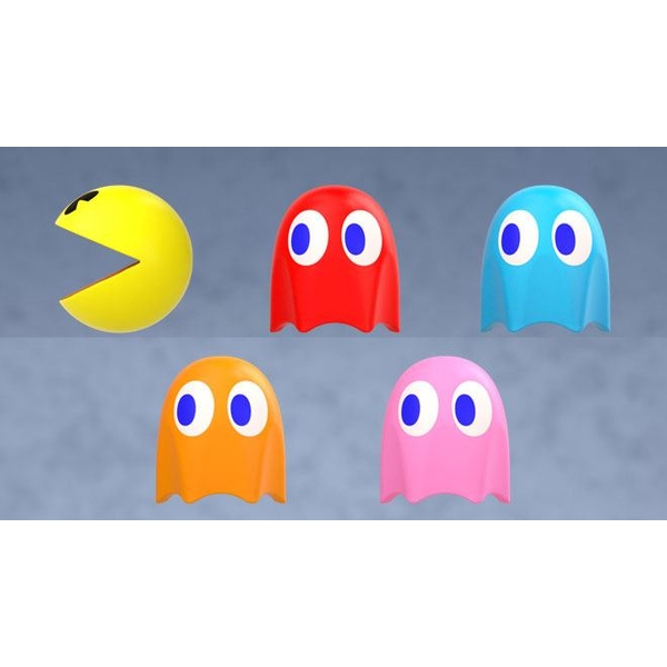 Pac-Man Cable Mascots 5 cm Display (6)