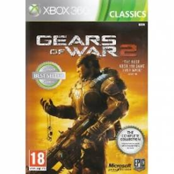 Gears Of War 2 Complete Collection Game (Classics) Xbox 360