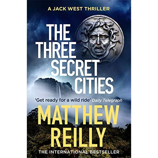 The Three Secret Cities  Paperback 2018