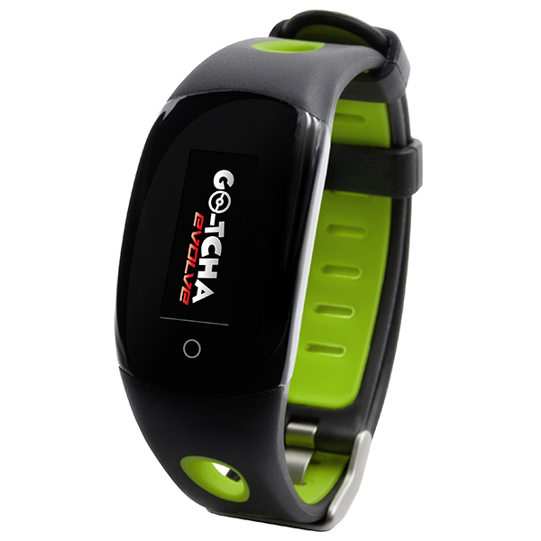 GO-TCHA Evolve Smartwatch for Pokemon Go Globetrotter Green
