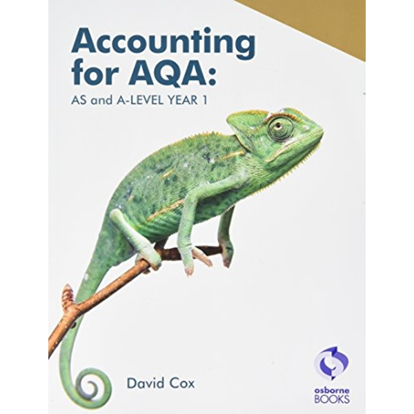 Accounting for AQA : AS and A Level Year 1  Paperback / softback 2017