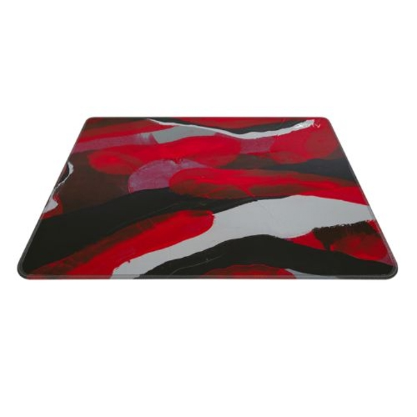 Image of Xtrfy GP4 Large Surface Gaming Mouse Pad, Abstract Retro, Cloth Surface, Non-slip Base, Washable, 460 x 400 x 4 mm