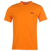 Slazenger Plain T-Shirt Small Orange