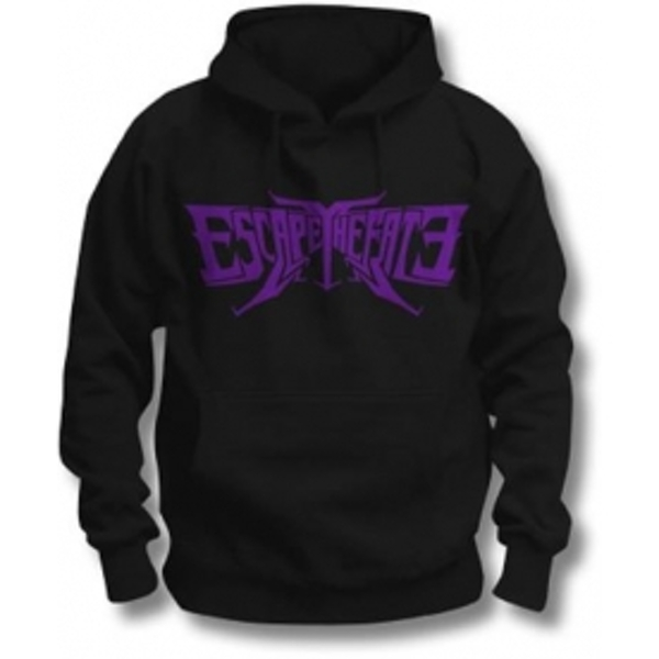 Escape The Fate Logo Pullover Hoodie Black: Large