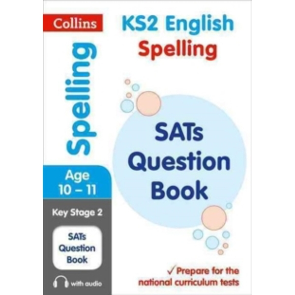 KS2 Spelling SATs Question Book : 2018 Tests