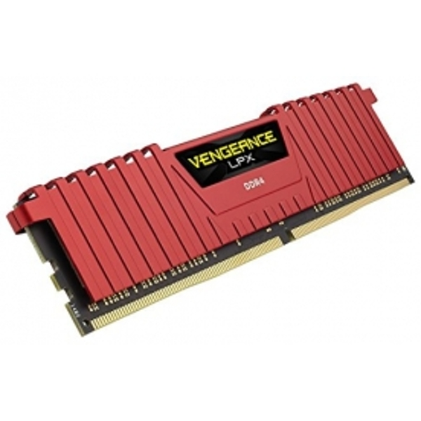 Corsair Vengeance LPX 8GB Memory Module PC4-19200 2400MHz DDR4 DIMM C14 (Red)