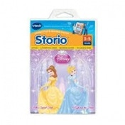 Ex-Display Vtech Storio Disney Princess Cinderella & Belle System Storybooks Used - Like New