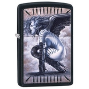 Zippo Olivia Black Matte Finish Windproof Lighter