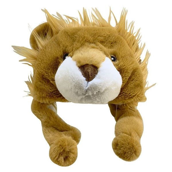 Plush Lion Hat