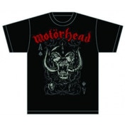 Motorhead Playing Card Mens T Shirt: Large