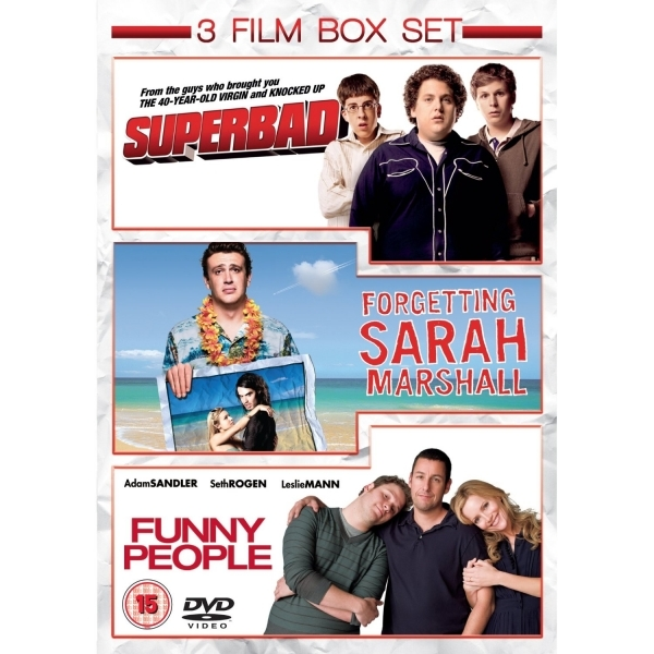 Funny People  Superbad  Forgetting Sarah Marshall DVD